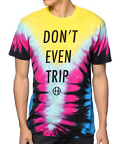 HUF Don't Even Trip Tie Dye T-Shirt