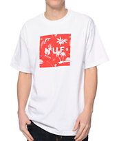 HUF Drunk Aloha Red & White Tee Shirt