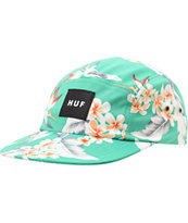 HUF Endless Summer Green 5 Panel Hat