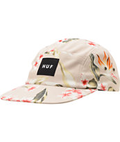 HUF Endless Summer Khaki 5 Panel Hat