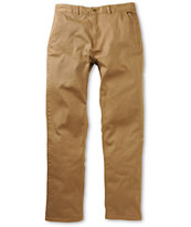 HUF Fulton British Khaki Regular Fit Chino Pants