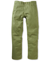 HUF Fulton Military Avocado Regular Fit Chino Pants