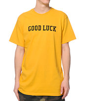 HUF Good Luck Mustard Tee Shirt