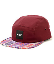 HUF Guatemalan 5 Panel Hat