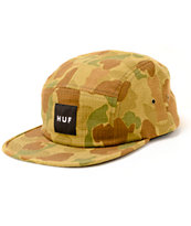 HUF Japanese Duck Camo 5 Panel Hat