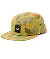 HUF Japanese Leaf Camo 5 Panel Hat