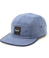 HUF Japanese Speckle Blue 5 Panel Hat