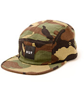 HUF Japanese Woodland Camo 5 Panel Hat