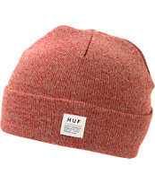 HUF Mixed Yarn Red Beanie