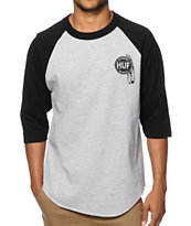 HUF Native Baseball Tee Shirt