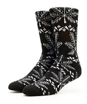 HUF Nordic Black Crew Socks