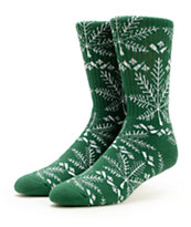 HUF Nordic Forest Green Crew Socks
