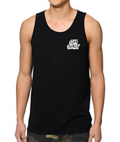 HUF Oh Shit Black Tank Top