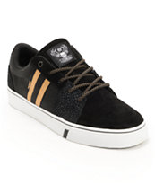 HUF Pepper Pro Black & Elephant Skate Shoe