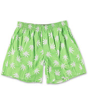 HUF Plantlife Green Boxer Shorts