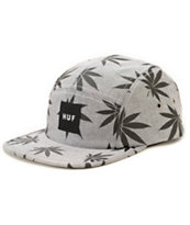 HUF Plantlife Oxford 5 Panel Hat