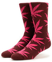 HUF Plantlife Wine Crew Socks
