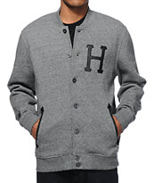 HUF Princeton Fleece Varsity Jacket