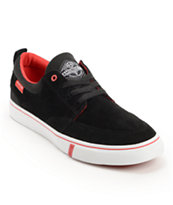 HUF Ramondetta Black & Red Skate Shoe