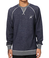 HUF Script French Terry Crew Neck Sweatshirt