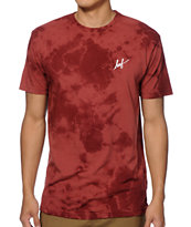 HUF Small Script Tie Dye T-Shirt