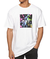 HUF Splats Box Logo T-Shirt