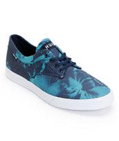 HUF Sutter Navy Floral Shoe