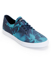 HUF Sutter Navy Floral Shoes