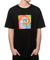 HUF Tie Dye Fill Box Logo T-Shirt