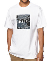 HUF Tiger Camo Box Logo Tee Shirt