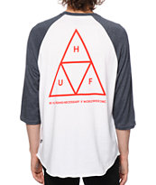HUF Triple Triangle Baseball T-Shirt
