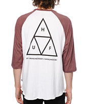 HUF Triple Triangle Baseball T-Shirt