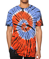 HUF Triple Triangle Tie Dye Swirl T-Shirt