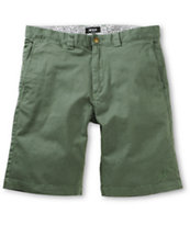 HUF Twill Work Olive Drab Shorts