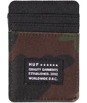 HUF Woodland Camo Cardholder Wallet