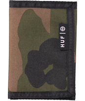 HUF Woodland Camo Trifold Wallet