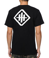 HUF X Haze Black Pocket Tee Shirt