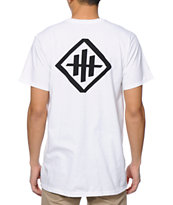 HUF X Haze White Pocket Tee Shirt