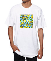 HUF x Krooked Flowers T-Shirt