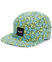 HUF x Krooked Flowers Tarragon 5 Panel Hat