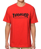 HUF x Thrasher Asia Tour T-Shirt