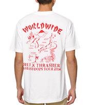 HUF x Thrasher Souvenir T-Shirt