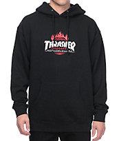 HUF x Thrasher TDS Black Pullover Hoodie