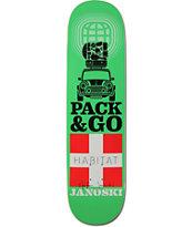 "Habitat Janoski Pack & Go 8.12"" Skateboard Deck"