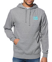 Habitat Pod Heather Grey Pullover Hoodie