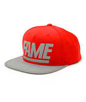 Hall Of Fame 3 MF Reflective Snapback Hat