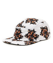 Hall Of Fame Crime White 5 Panel Hat