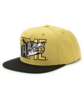 Hall Of Fame JYD Gold & Black Snapback Hat