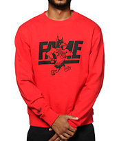 Hall Of Fame Mascot Crew Neck Sweatshirt