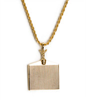 Han Cholo Grill Gold Necklace